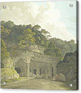 The Entrance To The Elephanta Cave Acrylic Print