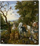 The Entry Of The Animals Into Noahs Ark Acrylic Print