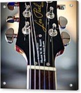 The Epiphone Les Paul Guitar Acrylic Print