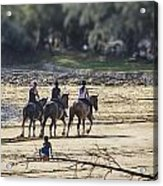 The Equestrians   Acrylic Print