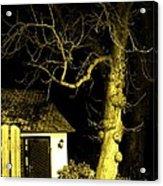 The Escape Door Acrylic Print by Sharon Costa