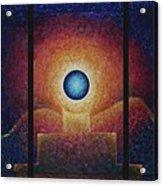 The Eternal Flame Acrylic Print