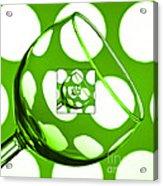 The Eternal Glass Green Acrylic Print