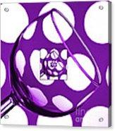 The Eternal Glass Purple Acrylic Print