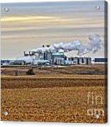 The Ethanol Plant Acrylic Print