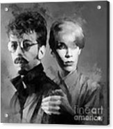 The Eurythmics Acrylic Print