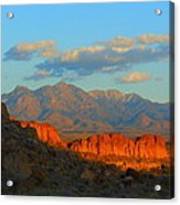 The Ever Changing Beauty Of Monolith Gardens Acrylic Print