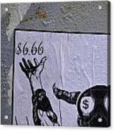The Evil Means  Acrylic Print