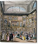 The Exhibition Room At Somerset House Acrylic Print