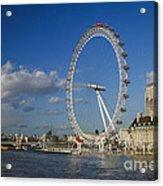 The Eye In London Acrylic Print