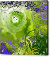 The Eyes Have It Green Acrylic Print