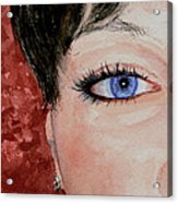 The Eyes Have It - Nicole Acrylic Print