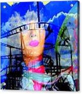 The Eyes Of Miss Coney Island Acrylic Print