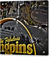The Fabulous Kingpins Drums Acrylic Print