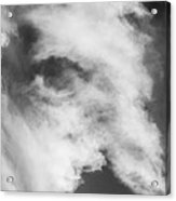 The Face In The Clouds Acrylic Print
