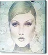 The Face Of 66' Acrylic Print by Megan Jenkins