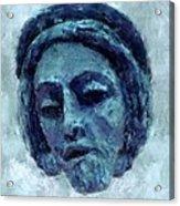 The Face Of Blue Acrylic Print