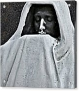 The Face Of Death - Graceland Cemetery Chicago Acrylic Print