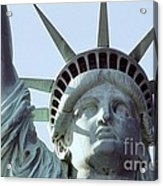 The Face Of Liberty  Acrylic Print