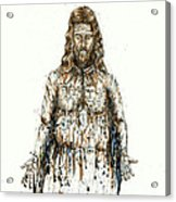 The Faces Of  Body Of Jesus Christ Acrylic Print