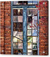 The Factory Window Acrylic Print