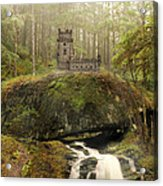 The Fairy Castle Acrylic Print