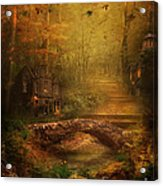 The Fairy Forest In The Fall Acrylic Print