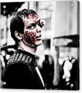 The Fake Zombie Robot Acrylic Print