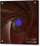 The Falcon's Eye   Ultra Violet Vision Acrylic Print by Peter R Nicholls