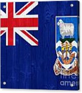 The Falkland Islands Flag Acrylic Print