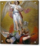 The Fall Of Lucifer Acrylic Print