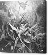 The Fall Of The Rebel Angels Acrylic Print
