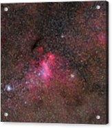 The False Comet Cluster In Scorpius Acrylic Print