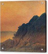 The False Lovers' Rock At Sunset Acrylic Print
