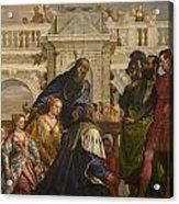 The Family Of Darius Before Alexander Acrylic Print