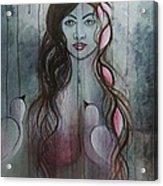 The Fanatic Beauty Acrylic Print