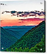 The Far Hills 2 Acrylic Print