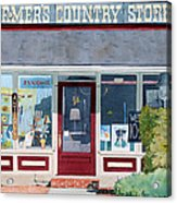 The Farmer's Country Store Acrylic Print