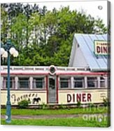 The Farmers Diner In Color Acrylic Print