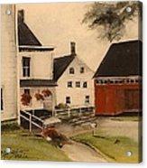 The Farmhouse Acrylic Print