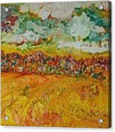 The Farmland Oil On Canvas Acrylic Print