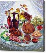 The Feast Acrylic Print