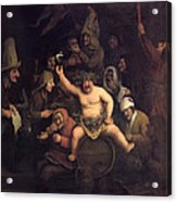 The Feast Of Bacchus, 1654 Acrylic Print