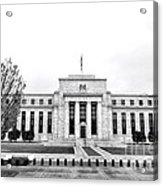 The Federal Reserve  Acrylic Print by Olivier Le Queinec