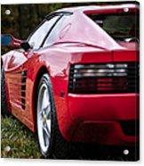 The Ferrari 512 Acrylic Print
