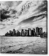 The Ferry To Manhattan Acrylic Print