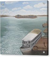 The Ferryman's Break Acrylic Print
