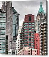 The Financial District Acrylic Print