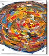 The Fine Art Of Pizza Making Acrylic Print