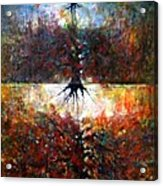 The Fire Of Forest-the Fire Of Heart Acrylic Print